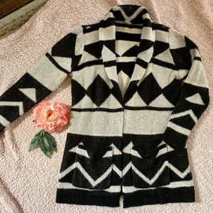 Urban Outfitters Aztec Knit Cardigan Sweater